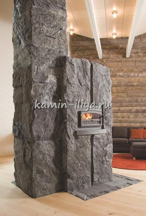 Печи и камины NunnaUuni в интерьере