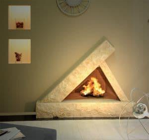 Дизайн каминов