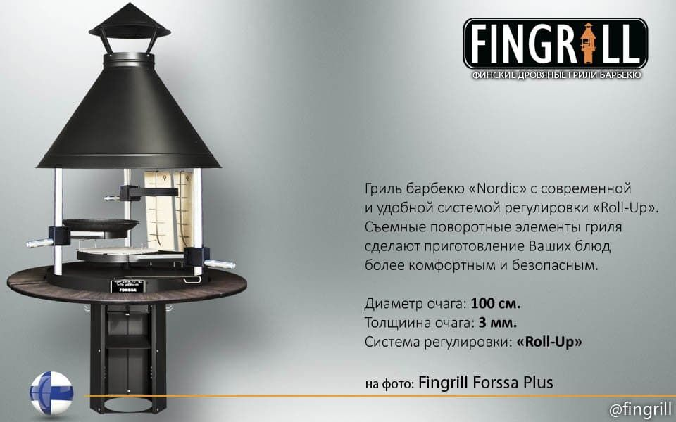 Fingrill Forssa Plus